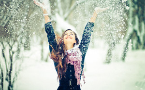 Winter snow fun Wallpapers Pictures Photos Images