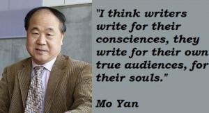 Mo yan quotes 5