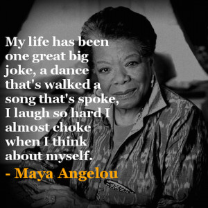 Maya Angelou didn't write poetry. She WAS poetry. Her whole being ...