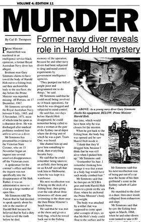 ... » What Happened To Holt – Probably A Tragic But Simple Accident