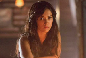 Janina Gavankar as Tessa on The Vampire Diaries Season 5, Episode 3
