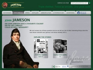 The real John Jameson didn't have a beard.