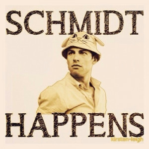 Schmidt happened today and it was awesome! (Sc is the schmidt number!)