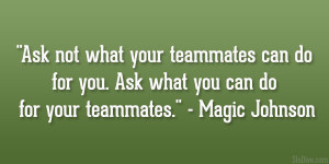 Magic Johnson Quote