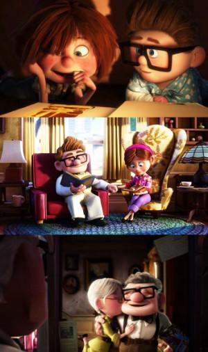 Pixar: Up!.... Cinco minutos de Amor y de Vida.