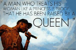 man who treats his woman like a princess is proof that he has been ...