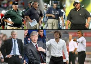 Fashion: NFL coaches vs European soccer coaches