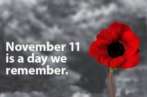 Happy Remembrance Day