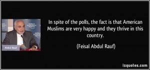 More Feisal Abdul Rauf Quotes