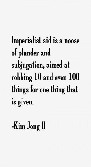 Kim Jong Il Quotes & Sayings