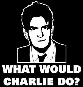 Winning T Shirt Charlie Sheen Funny Two Half Men Party
