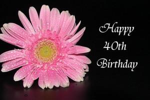 Fir Mamat ~ › Portfolio › Happy 40th Birthday