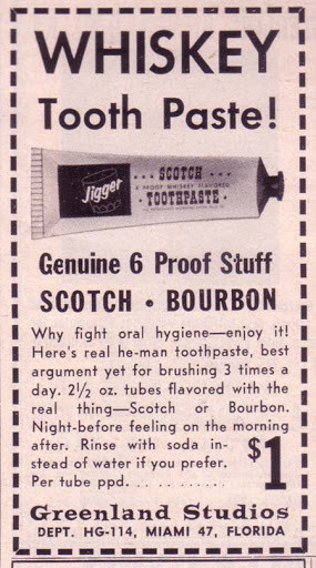 The Whiskey Toothpaste