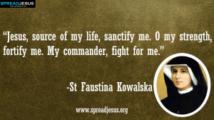 Faustina Kowalska QUOTES HD-WALLPAPERS DOWNLOAD:CATHOLIC SAINT QUOTES ...