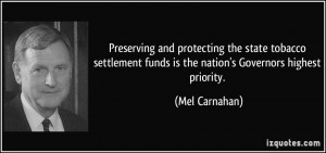 More Mel Carnahan Quotes