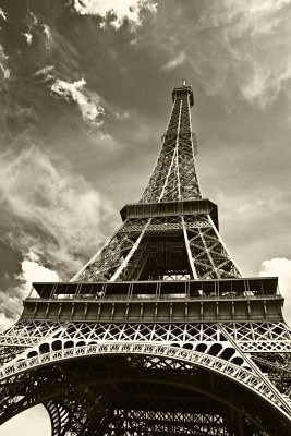 Eiffel Tower, maybe one day