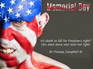 Famous Memorial Day Quotes And Sayings For Facebook