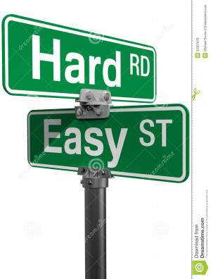 hard-road-easy-street-sign-choice-signs-choose-life-directions ...