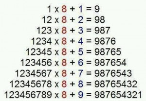 Number patterns...very cool
