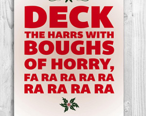 Christmas Story Quote, Christmas Art Print, Funny Christmas Decor ...