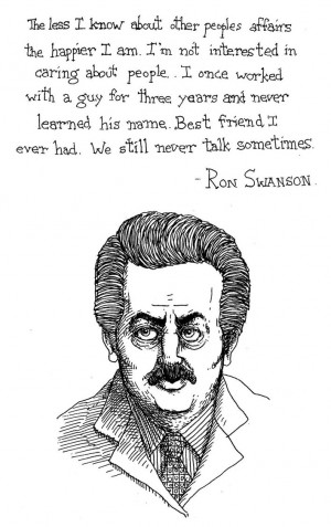 Ron Swanson - Best Quote EVER by daolagupu