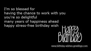 funny wishes birthday coworkers -