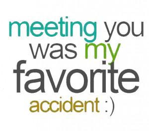 Meeting You Was My Favourite