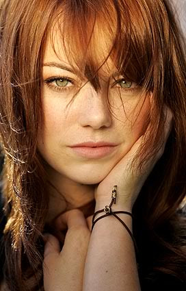 And Emma Stone, who is now my favorite actress after watching Easy A ...