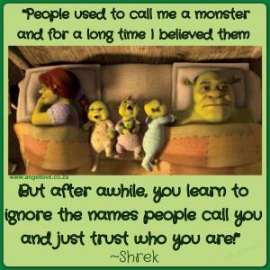 Funny Donkey Quotes From Shrek Shrek quote