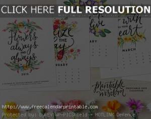 2015 calendar quotes 2015 calendar quotes