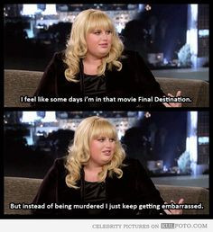 Funny Rebel Wilson quote: