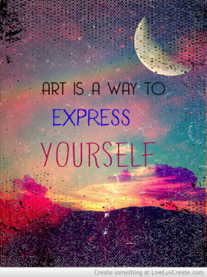art, art express, beautiful, cute, express, inspirational, life, love ...