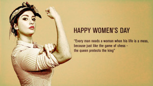 Happy Women's Day HD wallpapers Images strong lady