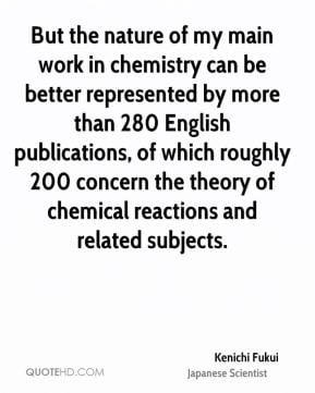 Chemical Quotes