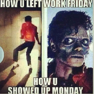 Fridays vs Mondays Part 3