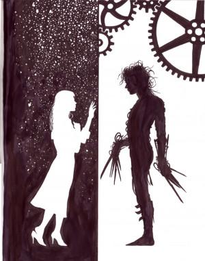 Edward Scissorhands love