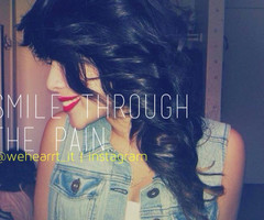 About Smiling Through Pain Tumblr ~ Quotes About Smiling Through Pain ...