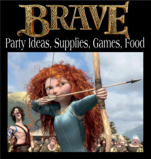 Disney's Brave: Party Supplies, Food and Games