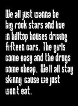 Nickelback - Rockstar - song lyrics, music lyrics, song quotes, music ...