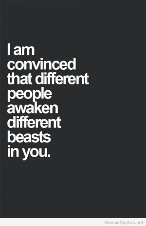 Different people quotes
