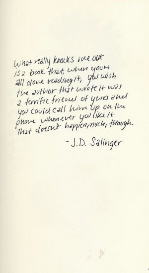 j d salinger essay We would like to show you a description here but the site won't allow us.