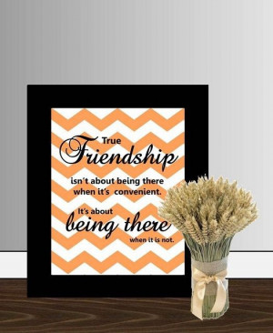 Being There - Best Friend Quote
