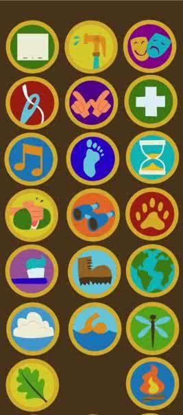 Wilderness explorer badges from Up1St Bday, 267604 Pixel