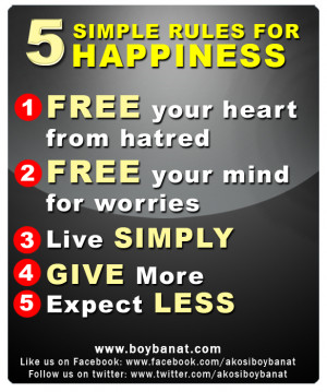 Happiness Quotes and Sayings