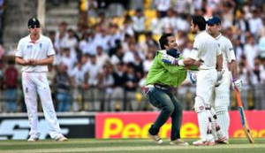 ... Virat Kohli after he scored a century.— Photo: K. R. Deepak