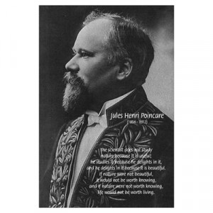 CafePress > Wall Art > Posters > Jules Henri Poincare Science Poster