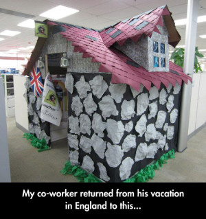 Office Cubicle Prank