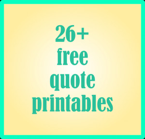 26 + free quote printables and quote journaling cards