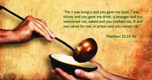 ... Matthew 25 35 36, Favorite Scripture, Bible Verses, Biblical Prophesi