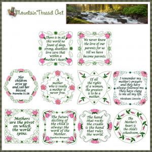 ... mom quotes n quilt block set 1 wild irish rose quotes for mom quotes n